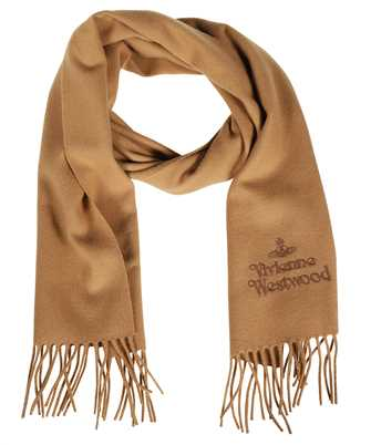 Vivienne Westwood 81030007 W001Z FP EMBROIDERED LAMBSWOOL Sciarpa