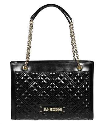 LOVE MOSCHINO JC4010PP1B LA0 LOGO QUILTED SHOPPER Bag