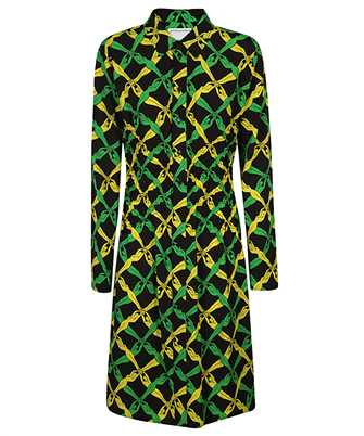 Bottega Veneta 651741 V0G60 FANTASIA PRINT Dress