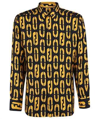 Fendi FS0808 ADUP COMFORT-FIT SILK Shirt