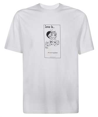 Vetements UAH21TR681 LOVE IS... SECRET T-shirt