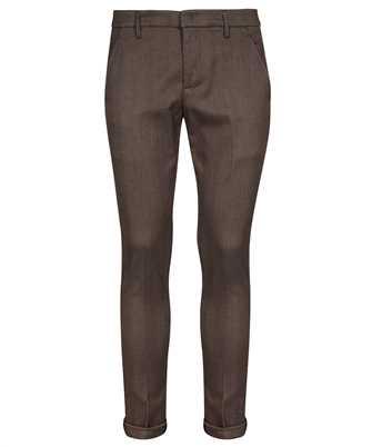 Don Dup UP235 FS0239U BV4 HERRINGBONE WOOL Trousers