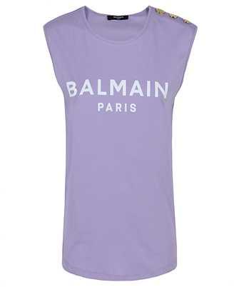 Balmain VF11000B012 LOGO PRINT T-shirt