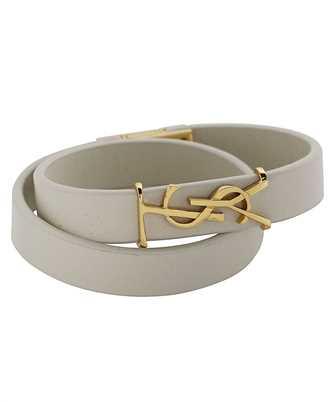 Saint Laurent 646558 BL40J OPYUM DOUBLE WRAP Bracelet