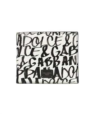 Dolce & Gabbana BP2463 AZ657 GRAFFITI PRINT BIFOLD Wallet
