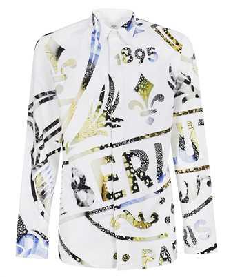 BERLUTI R20HTL50 001 PRINTED CREST Hemd