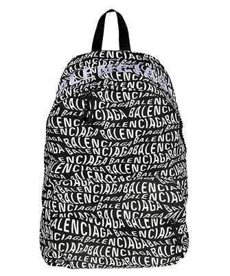 Balenciaga 507460 9MIAN LOGO WAVE WHEEL Backpack