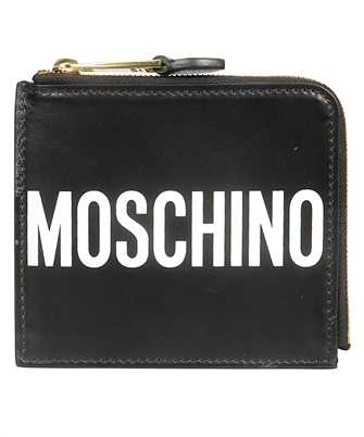 Moschino 8104 8001 LEATHER LOGO Wallet