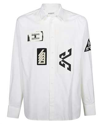 Givenchy BM60HJ10KL PATCHS Shirt