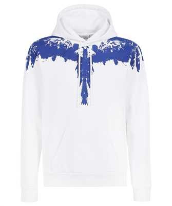 Marcelo Burlon CMBB007F21FLE004 TEMPERA WINGS REGULAR Kapuzen-Sweatshirt