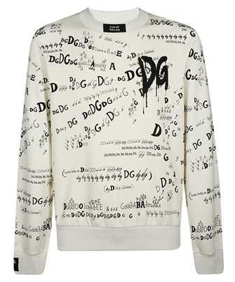 Dolce & Gabbana G9TF9T FI74R ALL-OVER DG LOGO Felpa