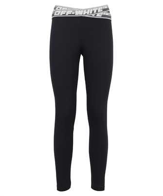 Off-White OWVG028F21JER001 ATHLETIC LOGO BAND LEGGINGS Trousers