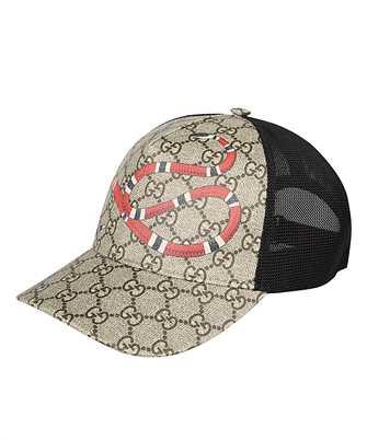 Gucci 426887 4HB10 KINGSNAKE PRINT GG SUPREME Cap