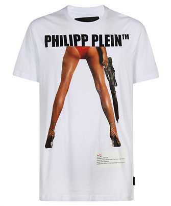 Philipp Plein PAAC MTK5132 ROUND NECK SS BANG BANG T-shirt