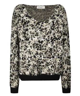 Saint Laurent 632020 YARZ2 ANIMALIER INTARSIA Knit
