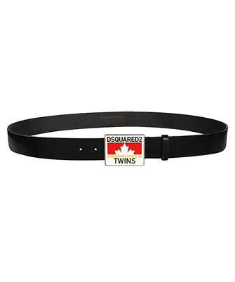 Dsquared2 BEM0151 01500001 PLAQUE Belt