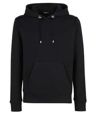 Balmain WH2JR002B155 CURLY ZIPPED Kapuzen-Sweatshirt