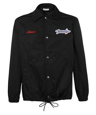 Givenchy BM00C713EN MOTEL EMBROIDERED WINDBREAKER Jacket