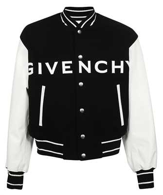Givenchy BM00QR611V WOOL AND LEATHER BOMBER Jacket