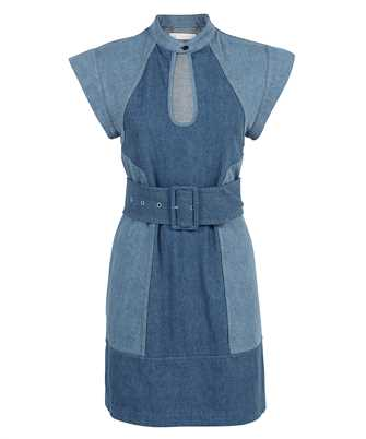 Chloé CHC21UDR10158 TWO-TONE DENIM Dress