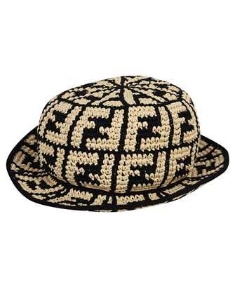 Fendi FXQ688 ADRH RAFFIA BUCKET Hat