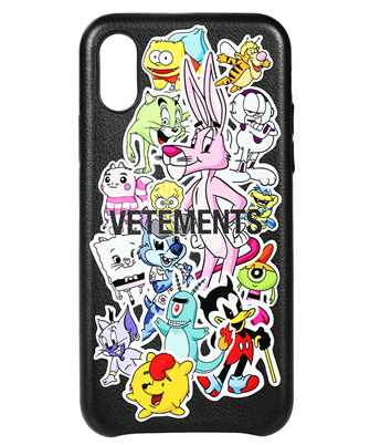 Vetements SA005 MONSTERS STICKERS iPhone XS cover