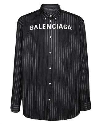 Balenciaga 583989 TGM04 CHEST LOGO Camicia