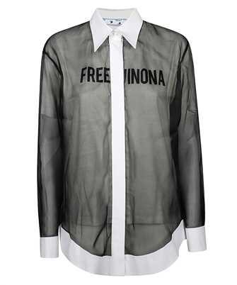 Off-White OWGA080E20FAB001 DOUBLE LAYER Shirt