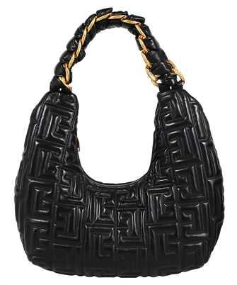 Balmain WN0DE701LNPQ PILLOW HOBO-QUILTED LAMBSKIN Bag