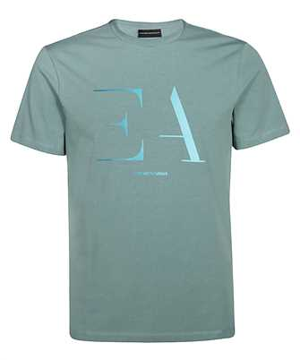 Emporio Armani 3H1TA5 1J0AZ STENCIL LOGO T-shirt