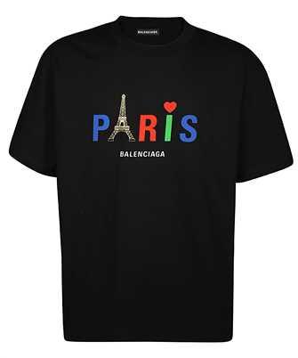 Balenciaga 594579 TGV43 PARIS T-shirt