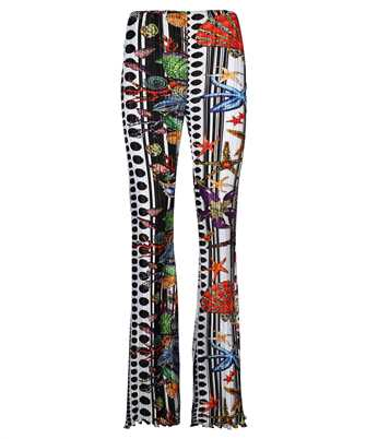 Versace A89220 1F01292 MICRO PLEATING ELASTIC Trousers