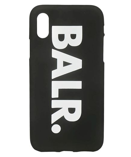 BALR. Silicone iPhone X Case cover