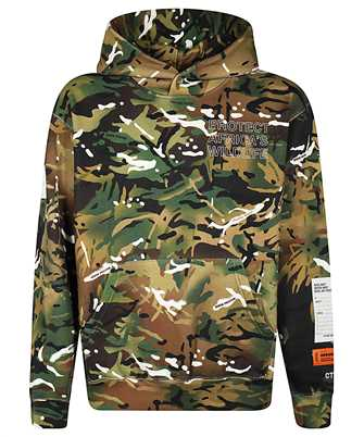 Heron Preston HMBB010F20JER008 MINISTRY OF DEFENCE Hoodie