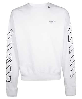 Off-White OMBA035F19E30011 ABSTRACT ARROWS Knit
