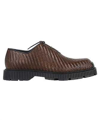 BERLUTI S5399 001 CAMDEN BRAIDED CALF OXFORD Shoes