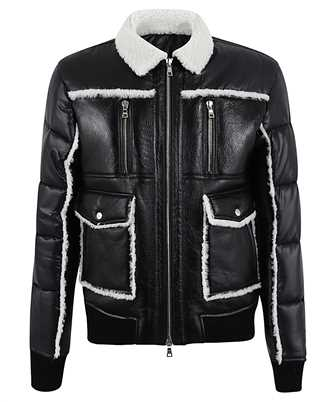 Balmain UH18154Z318 SHEARLING/NYLON DOWN Jacke