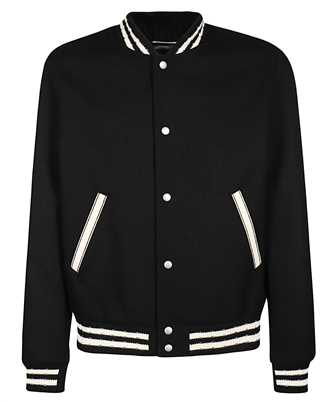 Saint Laurent 625918 Y180W TEDDY COLLEGE Jacket
