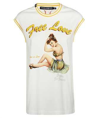 Dolce & Gabbana F8L34T FI7S9 FREE LOVE T-shirt