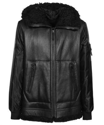 Stone Island 00197 SHEEPSKIN + NYLON RASO QUILTED WITH PRIMALOFT® INSULATION TECHNOLOGY_REVERSIBLE PIECE Giacca