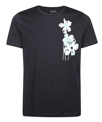 Emporio Armani 3H1T6R 1JQ4Z WATERCOLOUR FLOWER T-Shirt