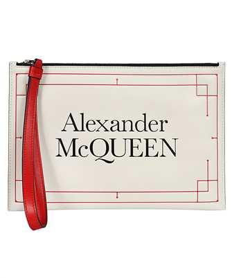 Alexander McQueen 650005 1X3A3 SIGNATURE ZIP Document case