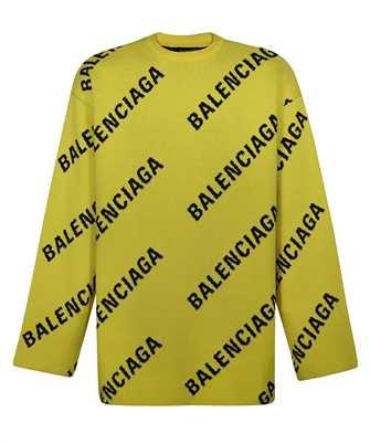 Balenciaga 657401 T3200 ALLOVER LOGO Strick