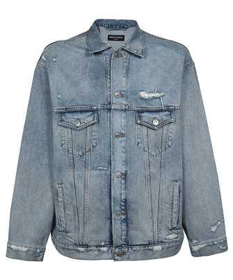 Balenciaga 664329 TBP48 BARCODE LARGE FIT Jacket