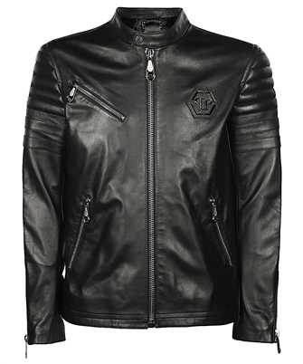 Philipp Plein P20C MLB 1153 PLE010N LEATHER MOTO Jacket