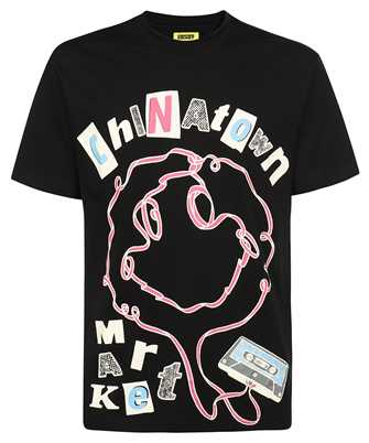 Chinatown Market 1990556 SMILEY TAPE PLAYER T-shirt