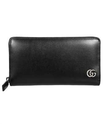 Gucci 428736 0YK0N GG MARMONT ZIP AROUND Wallet