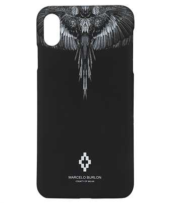 Marcelo Burlon CMPA012R20MAT001 BLACK WINGS iPhone XS MAX cover