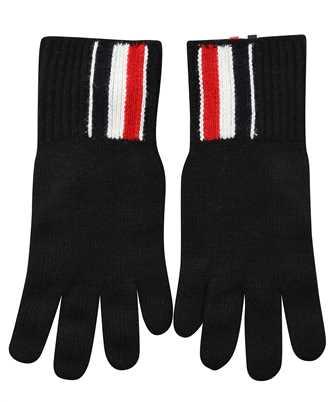 Thom Browne MKG011B Y1018 JERSEY STITCH IN MERINO WOOL Gloves