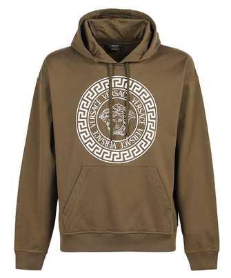 Versace 1001419 1A01052 STAMPE MEDUSA GRECA Kapuzen-Sweatshirt